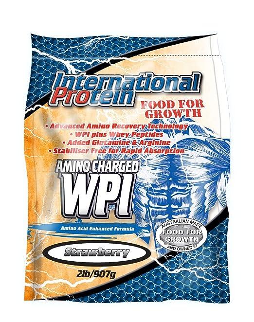 Amino Charged WPI (Whey Protein Isolate) - (Strawberry)