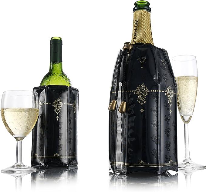 Compra Vacu Vin 3887560 Enfriador Rápido para Botellas De Vino Y ...