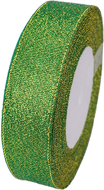 1 Roll Glitter Velvet Ribbon Sewing Accessories Gift Warpping Party Decor