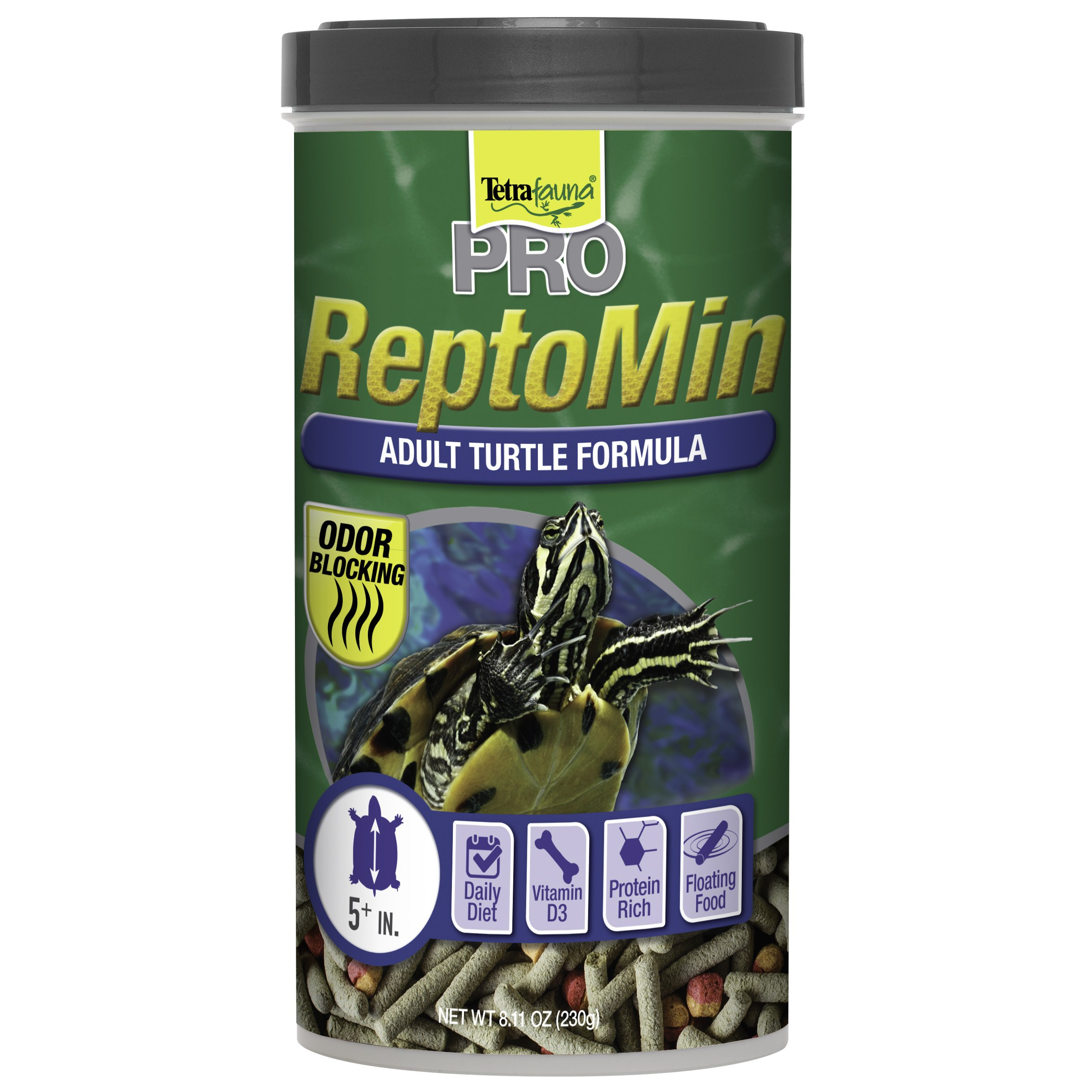 Tetra  Tetrafauna Pro ReptoMin Adult Turtle Formula Sticks, 8.11 oz. (77099)