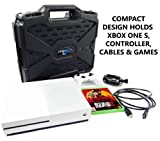 Casematix Travel Case Compatible with Xbox One S