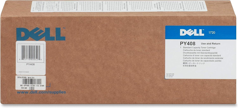 Dell PY408 Black Toner Cartridge 1720dn Laser Printer