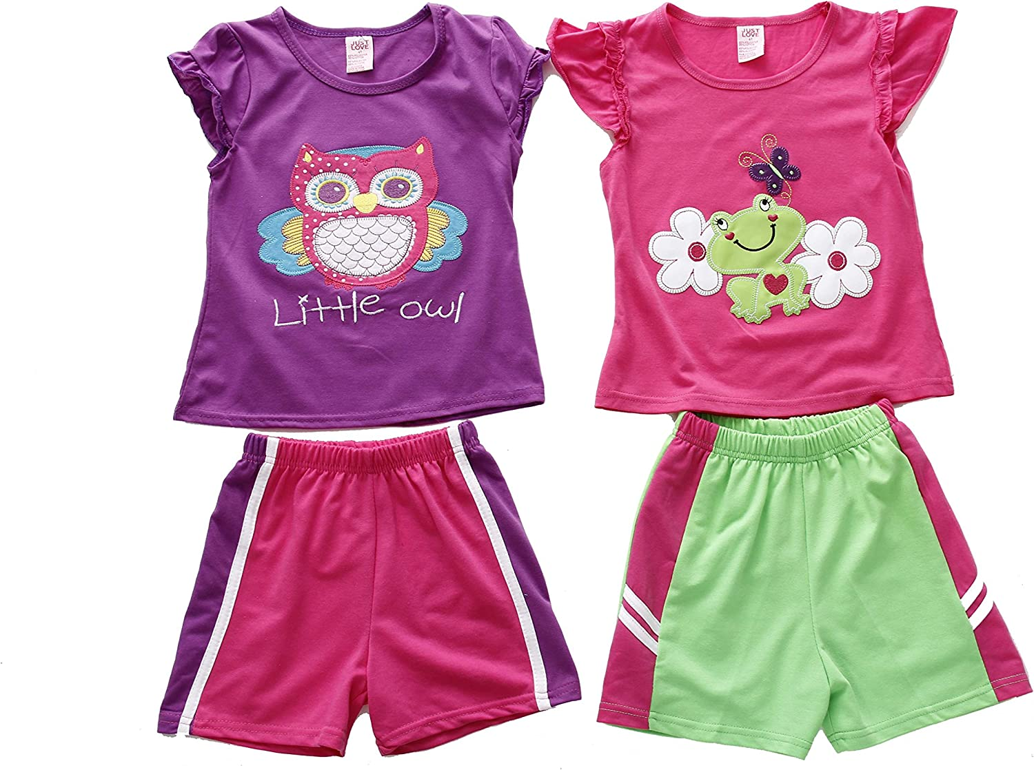 Just Love Two Piece Short Set Pack of 2