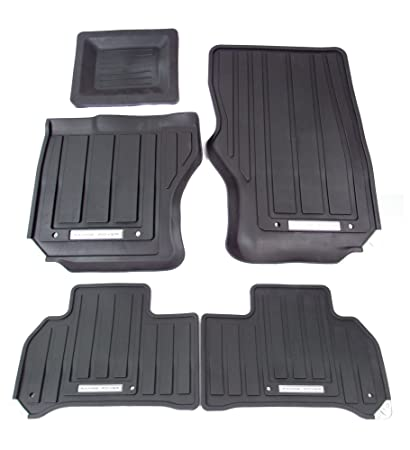 Amazon Com Genuine Land Rover Vplws0190 Front And Rear Rubber Floor