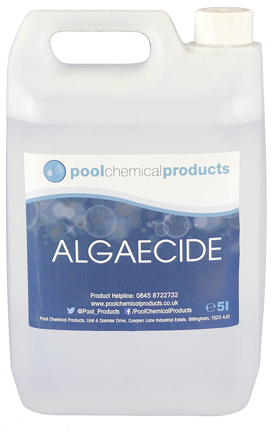 Algaecide 10l Swimmin pool Spa Hot Tub Pool Chemical Products