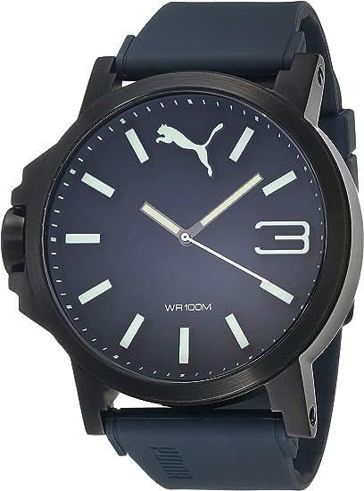 Puma Ultrasize - Reloj análogico de cuarzo con correa de ...