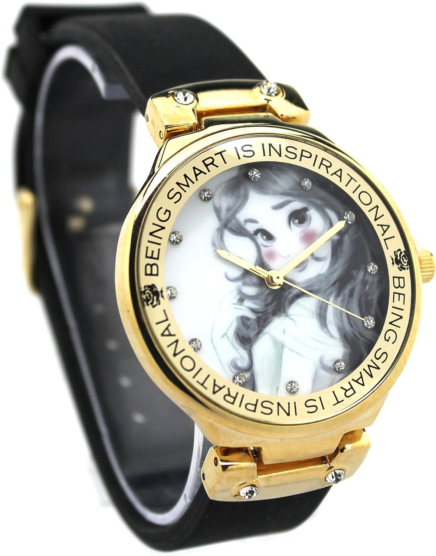 Belleza y la Bestia Belle Reloj de la mujer (pn1492)