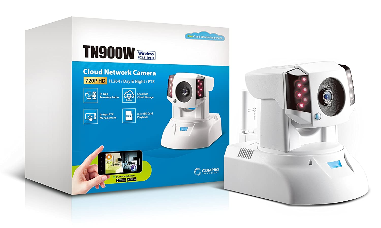 Compro TN900W Wireless 720P HD Day/Night IR cut Filter H 264