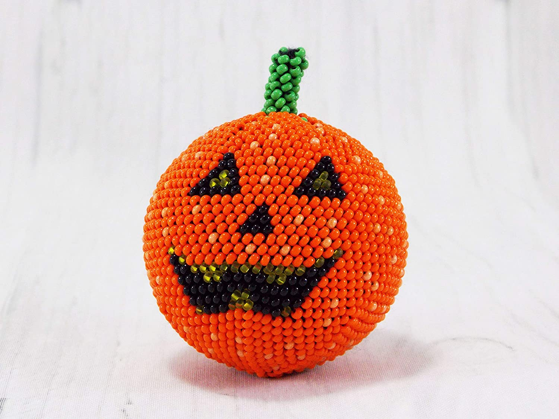 Amazon Handmade Orange Halloween Pumpkins Decor Ideas Party
