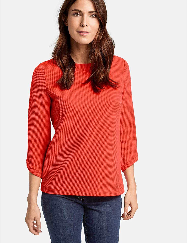 Gerry Weber T-Shirt Donna Arancione (Arancione Rosso 60664)