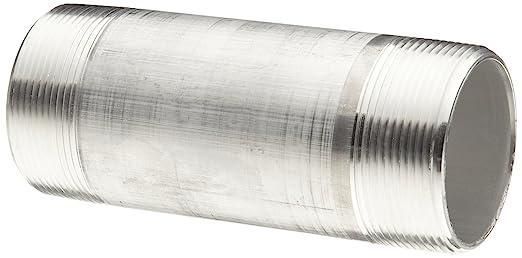 Merit Brass Aluminum Pipe Fitting Nipple Schedule 40 1/2u0026quot; National  sc 1 st  Amazon.com & Merit Brass Aluminum Pipe Fitting Nipple Schedule 40 1/2 ...