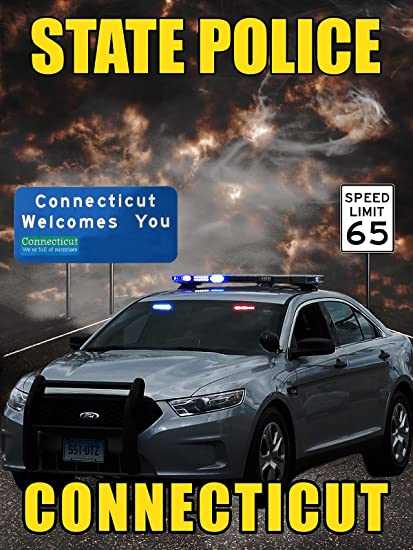 Amazon com: Connecticut State Police Poster Police Poster