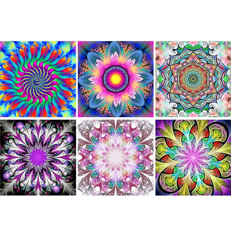 6 Pinturas por Diamantes Kit Completo - 89KCRKS4