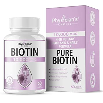 Lixin Advanced Biotin Supplement Hair Vitamins For Faster Growth Stronger Nails Clearer Skin