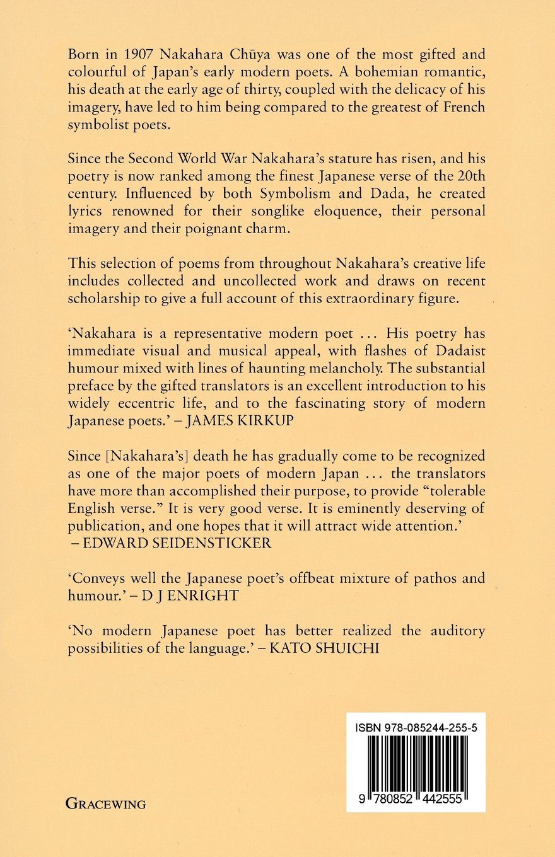 The poems of nakahara chuya nakahara chuya paul mackintosh maki the poems of nakahara chuya nakahara chuya paul mackintosh maki sugiyama 9780852442555 amazon books biocorpaavc Images