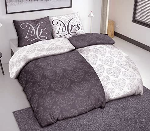 bettw sche 155 220 mr mrs conferentieproeftuinen. Black Bedroom Furniture Sets. Home Design Ideas