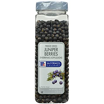 Amazoncom Mccormick Culinary Freeze Dried Juniper Berries 11
