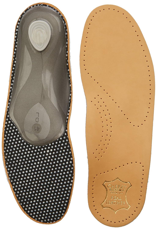 Graf Premium Leather Footbed L - Plantillas, color Natural, talla 36