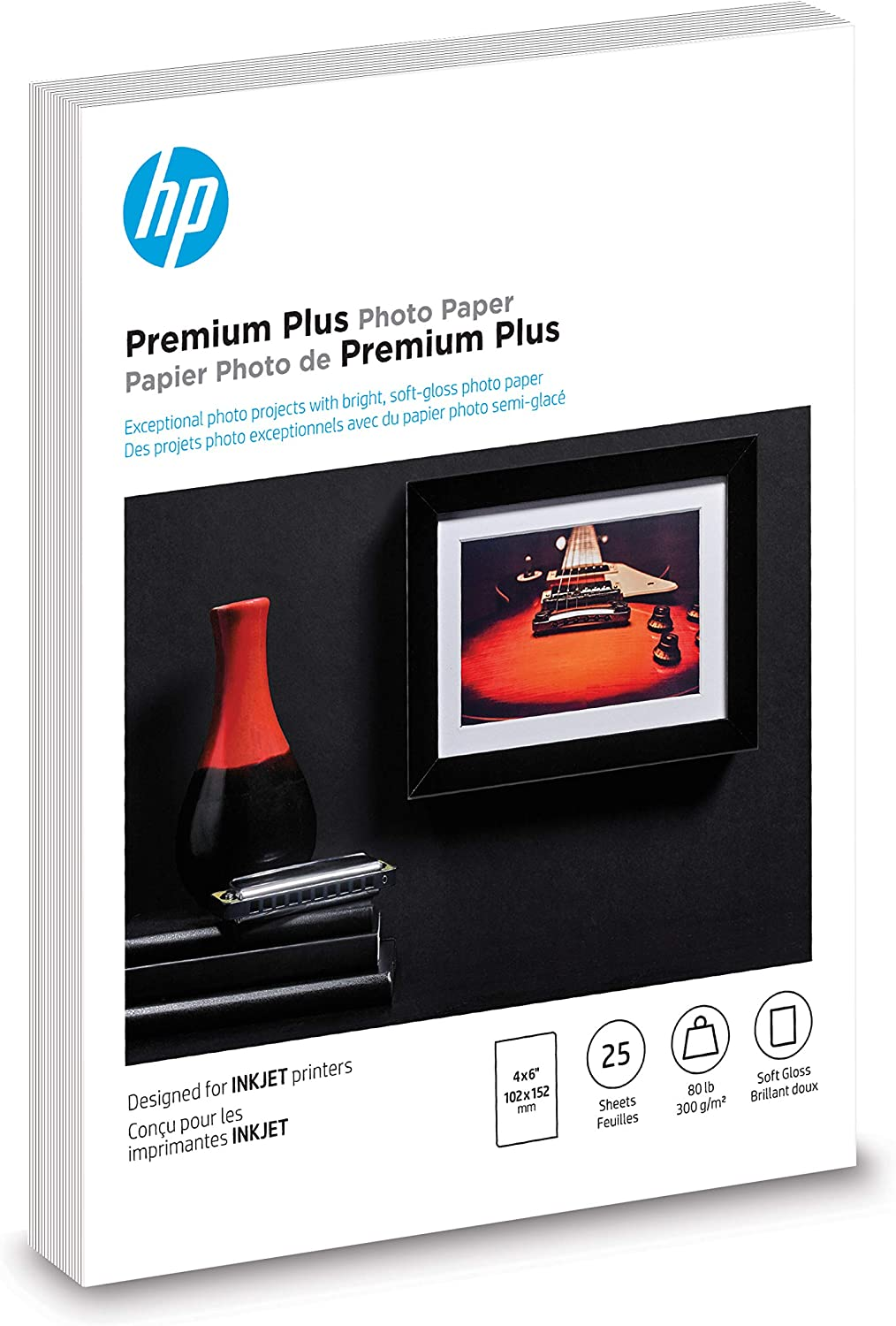 HP Brochure Paper | Matte Professional | 8.5x11 | 50 sheets (4WN01A)
