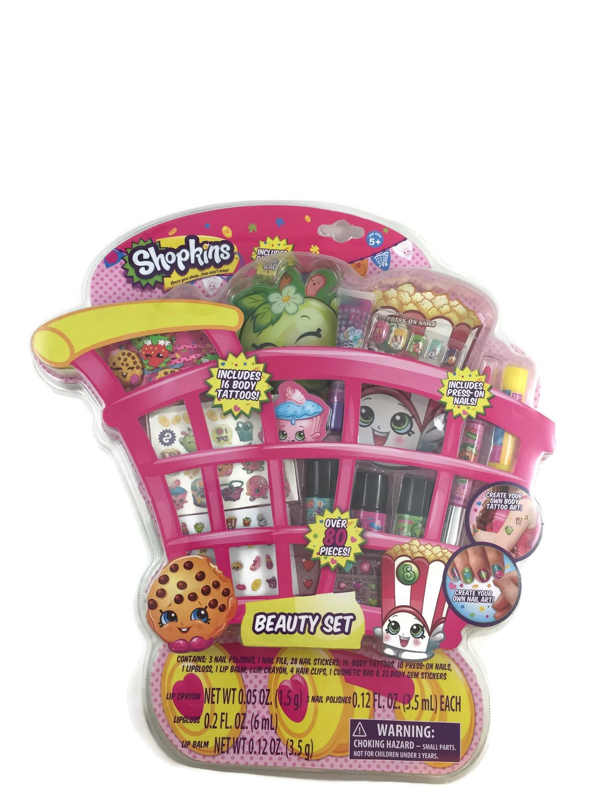 Shopkins Beauty Set - Over 80 Pieces Included by Shopkins (Image #1)