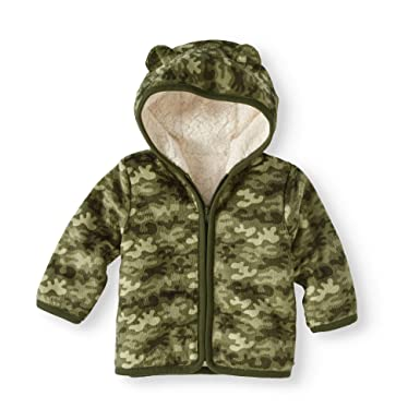 6f700367d Amazon.com: Healthtex Baby Boy Minky Jacket, Sea Turtle Camo: Clothing