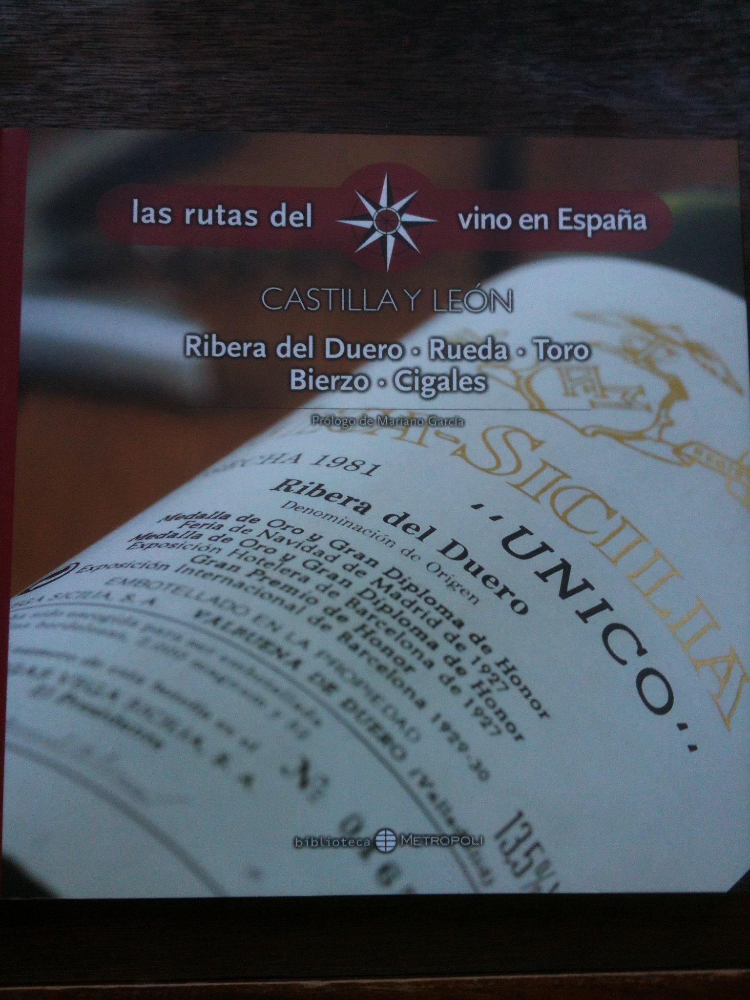 LAS RUTAS DEL VINO EN ESPAÑA-CASTILLA Y LEÓN,RIBERA DEL DUERO,RUEDA,TORO...MAGNÍFICAS ILUSTRACIONES FOTOGRÁFICAS: Amazon.es: BIBLIOTECA METROPOLIS: Libros