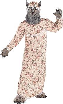 Amscan Dress Up-Disfraz de lobo de la abuela color no sólido ...