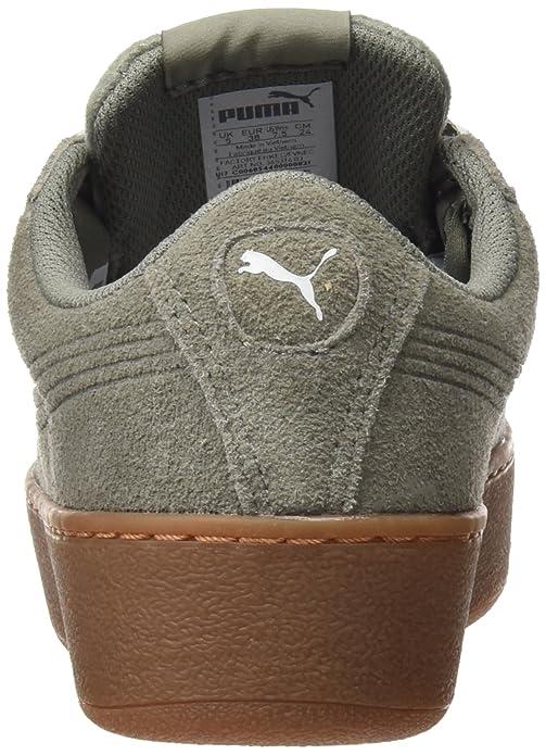 e9aa5a4be46d01 Puma Damen Vikky Platform Ribbon Bold Sneaker  Puma  Amazon.de  Schuhe    Handtaschen