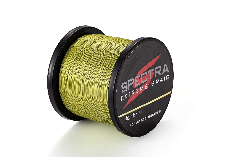 color verde militar de 100/a 2000/m resiste de 2,7 a 136 kg Hilo trenzado para pescar Extreme Braid de Spectra