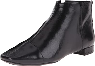 Nine West Women's Soozie Black Leather Boot 7.5 M