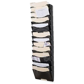 Wand Datei Halter Vertikal Organizer Modular Design Mit 15