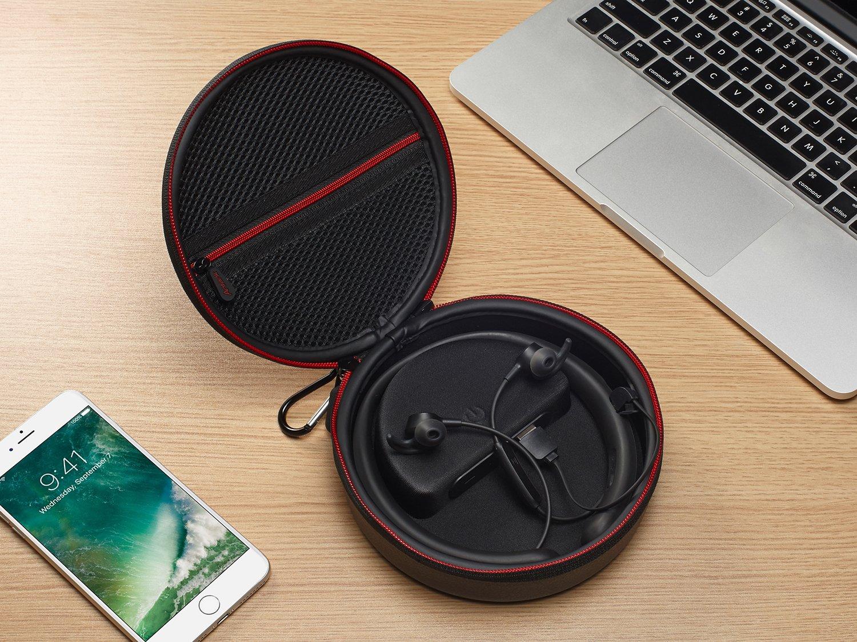 ... móvil casos de transporte con banco de potencia incorporado de viaje bolsa de almacenamiento para Bose quietcontrol 30 auriculares inalámbricos: ...