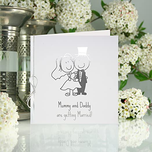 Mummy And Daddy Are Getting Married Wedding Invitations Pack Of 10