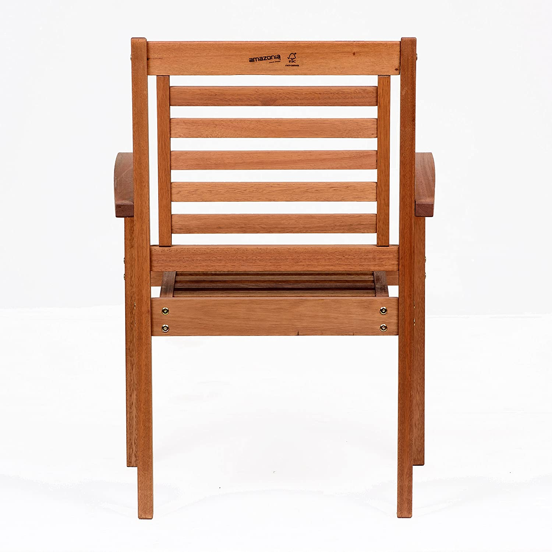 ia Stackable Eucalyptus Chair