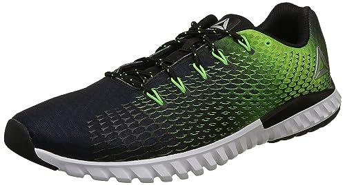 Reebok Men s Elite Runner Black Running Shoes-8 UK India (42 EU)(9 ... 05ee214da