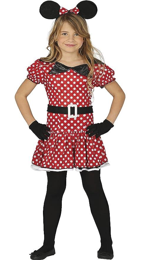 43c56575701f Costume vestito Minnie topolina topina carnevale bambina taglia 3-4 anni