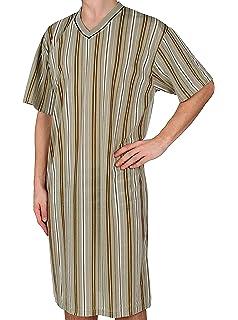 Classic Mr Nightgown,Short Sleeve,100/% Cotton L XL XXL XXXL