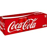 Coca-Cola Soda Soft Drink, 12 fl oz, 12 Pack