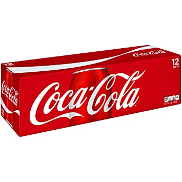 coca cola coke soda 12 fl oz 12 count fridge pack