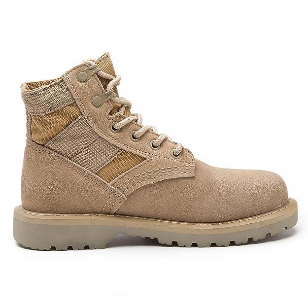 RoseG Damen Herren Leder Bootsschuhe Schnürhalbschuhe Desert Boots Cowboy  Stiefeletten: Amazon.de: Schuhe & Handtaschen