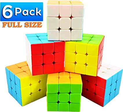 Speed Cube 3x3x3 with New Anti-pop Structure Smooth Puzzle Cube for Professional