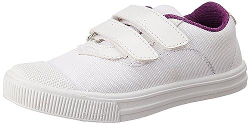 859264e05419c Duke Unisex White School Shoes - 3 UK India (34 EU)  Buy Online at ...