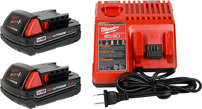 M18 /& M12 Rapid Charge Cordless Bay Battery Charger Multi-Voltage 6-Port 12 Volt