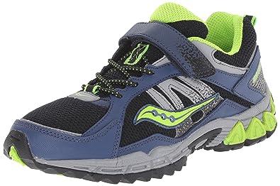 35182de204 Saucony Boys Excursion Alt Closure Sneaker (Little Kid), Navy/Black, 1