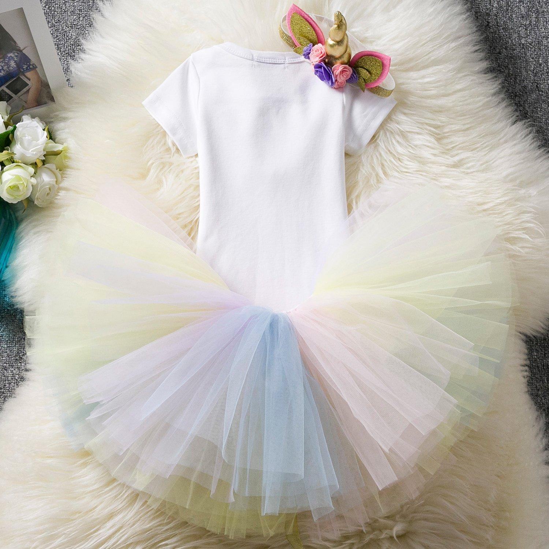 bca632f41 Niña FEOYA Niñas Falda de Tul Tutú Clásica de Ballet para Disfraz Halloween  Fiesta Color Amarillo PP23FS2841