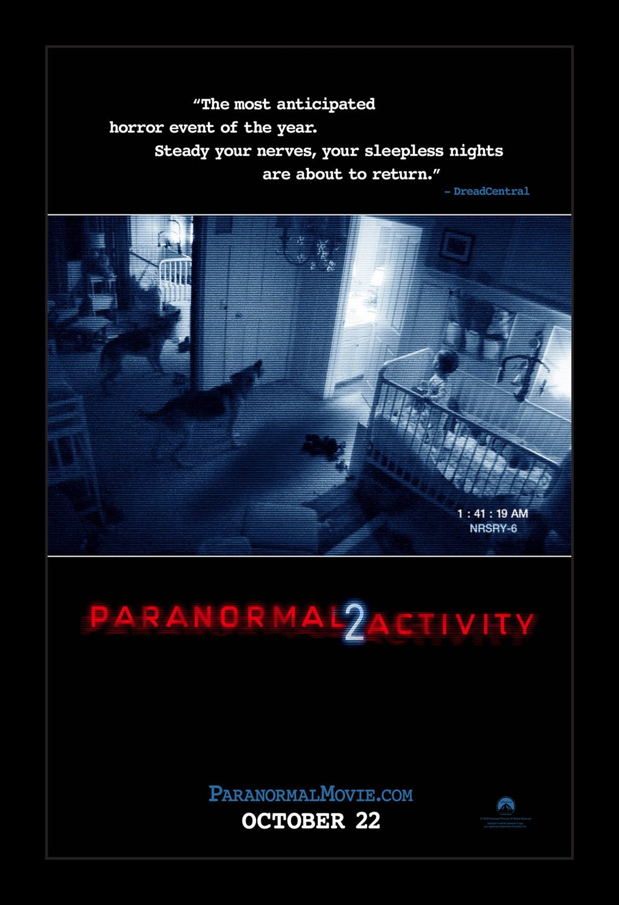 Paranormal Activity 2 - 11x17 Framed Movie Poster by Wallspace