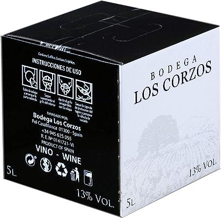 Bag in Box 5L Vino Tinto Recomendado Bodega Los Corzos