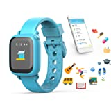 Octopus by JOY Kids Smartwatch teaches good habits and time (Watch, Blue)