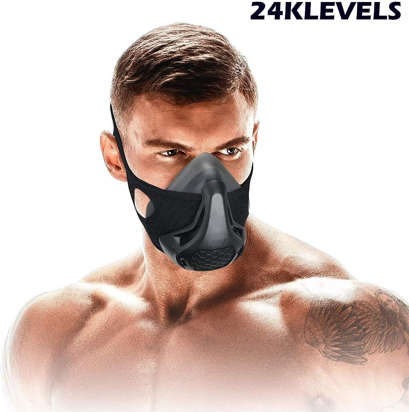 OGlink Máscara de Treinamento 3.0 Resistência à respiração Oxigênio Sport Fitness Mask