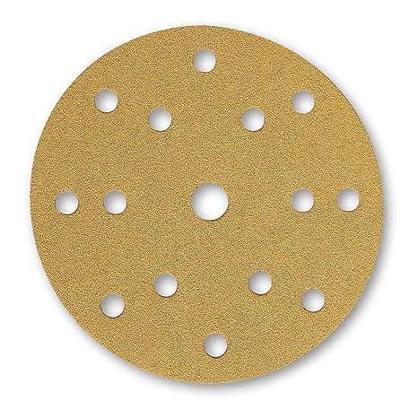 Mirka 2975301 2361109980 Gold 150 Mm Klettverschluss 15 Löcher P80 Gewerbe Industrie Wissenschaft